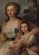 Countess Anna Protassowa with niece