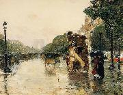 Champs Elysees Paris, Childe Hassam