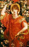 Dante Gabriel Rossetti A Vision of Fiammetta oil painting reproduction