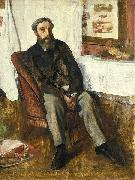 Portrait of a Man, Edgar Degas