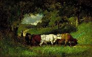 Edward Mitchell Bannister Edward Mitchell Bannister's painting oil painting