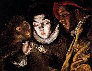 Allegory with a Boy Lighting a Candle in the Company of an Ape and a Fool, El Greco