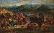 Eugene Delacroix Ovid among the Scythians oil painting reproduction