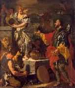 Francesco Solimena Rebecca at the Well oil painting