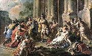 Horatius Slaying His Sister after the Defeat of the Curiatii