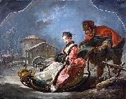 Francois Boucher Winter oil painting reproduction