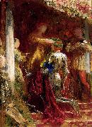 Victory, A Knight Being Crowned With A Laurel-Wreath, Frank Bernard Dicksee