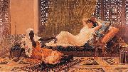 A New Light in the Harem, Frederick Goodall