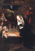 Geertgen Tot Sint Jans naissance du christ oil painting on canvas