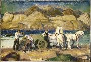 The Sand Cart, George Wesley Bellows