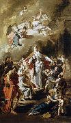 Giambattista Pittoni St Elizabeth Distributing Alms oil painting reproduction