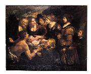 Gioacchino Toma The Finding of Moses oil painting reproduction