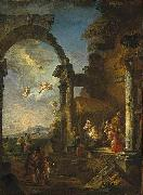 Giovanni Paolo Panini Adoration of the Shepherds oil painting artist