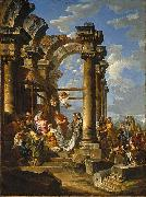 Giovanni Paolo Panini Adoration of the Magi oil painting artist