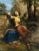 Gustave Courbet Sculptor oil painting reproduction