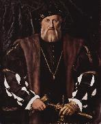 Portrait des Charles de Solier, Hans holbein the younger