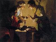 Hendrick ter Brugghen Esau Selling His Birthright oil painting