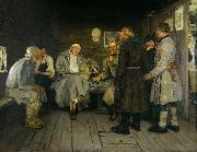 Ilya Yefimovich Repin Soldier's Tale oil painting