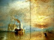 the fighting temeraire, J.M.W.Turner