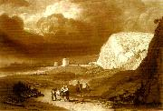 martello towers near bexhill sussex, J.M.W.Turner