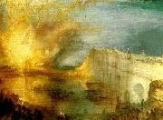 the burning of the house of lords and commons, J.M.W.Turner