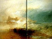 J.M.W.Turner wreckerscoast of northumberland oil painting reproduction