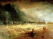 life-boat and manby apparatus going off to a stranded vessel, J.M.W.Turner
