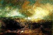 J.M.W.Turner the fifth plague of egypt oil painting on canvas