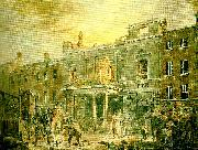 the pantheon, the morning after the fire, J.M.W.Turner