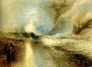 lights to warn steam-boats of shoalwater, J.M.W.Turner