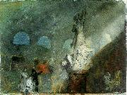 the north gallery by moonlight, J.M.W.Turner