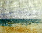 figures on the shore 1835-40, J.M.W.Turner