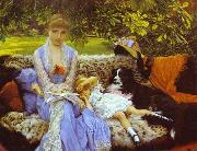 James Tissot Quiet oil painting reproduction