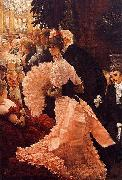 A Woman of Ambition (Political Woman) also known as The Reception, James Tissot