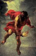 Prometheus Carrying Fire, Jan Cossiers