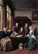 Jan Josef Horemans the Elder Marriage Contract oil painting reproduction