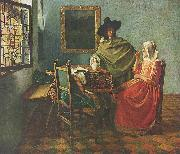 The Wine Glass, Johannes Vermeer