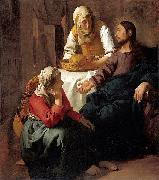 Christ in the House of Martha and Mary, Johannes Vermeer