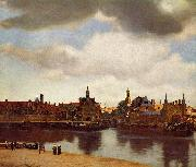 View on Delft., Johannes Vermeer