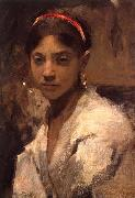 Head of a Capri Girl, John Singer Sargent