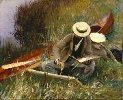 An Out of Doors Study, John Singer Sargent