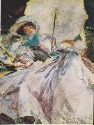 Lady with a Parasol, John Singer Sargent
