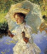 Sargent Morning Walk Detail, John Singer Sargent