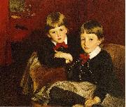 Sargent John Singer Portrait of Two Children aka The Forbes Brothers, John Singer Sargent