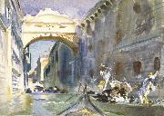 The Bridge of Sighs, John Singer Sargent