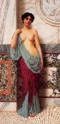 At the Thermae, John William Godward