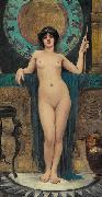 Study of Campaspe, John William Godward
