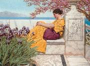 Under the Blossom that Hangs on the Bough, John William Godward