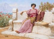Tranquillity, John William Godward