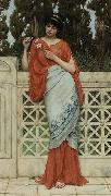He Loves Me, He Loves Me Not, John William Godward